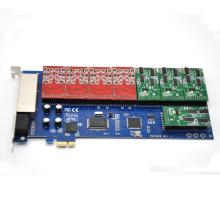 16 ports pci-E asterisk card fxo fxs card,elastix card,trixbox card,Freeswitch pbx,TDM1600E Voip Modules Analog for 4U version