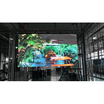 Front service Indoor Rental LED display