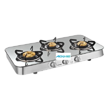 Crystal Reflecto 4 Burner SS Base Cooktop