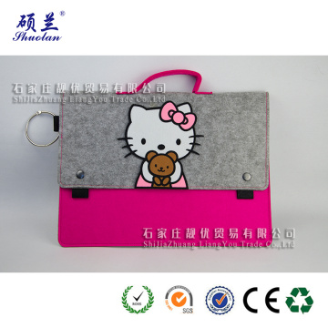 High quality newest design felt laptop bag