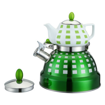 Double Whistling Kettle Set