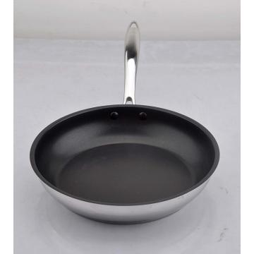 Non-stick coating frypan with casting handle