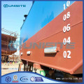 steel pontoons floats for dredging and marine construction