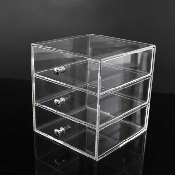 Wholesale 3 Drawer Acrylic Makeup Organizer