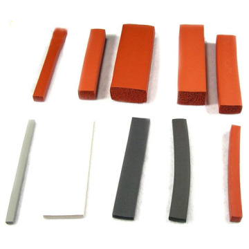 Silicone Rubber Strip Available in Various Widths