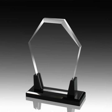 High transparent acrylic blank poker trophies