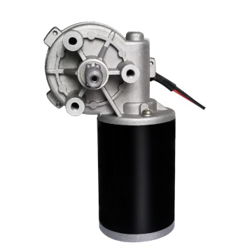 500 rpm Electric Worm Gear Motor Customizable