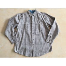 Long Sleeve Check Shirt Casual