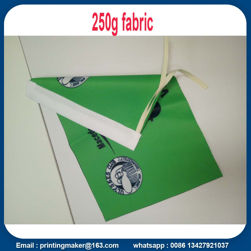flags with double sided printing
