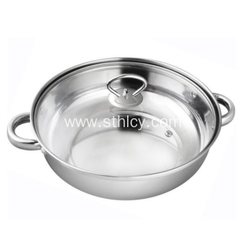 28cm Stainless Steel Multi-functional Soup Steamer Pot