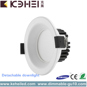 3.5 Inch Aluminum LED Downlights 6500K for Bathroom