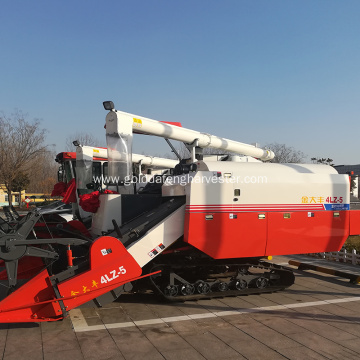 330mm Min.ground clearance rice harvesting machine