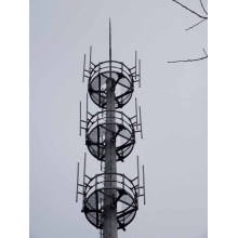 Three Layer Platform Telecom Mast