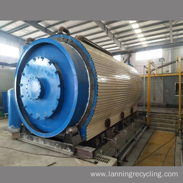 Free installation tyre to oil pyrolysis plant