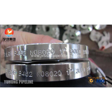 ASTM B462 UNS N08020 Alloy 20 Forged Flange