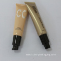 cosmetic plastic tube for CCcream with pump cap