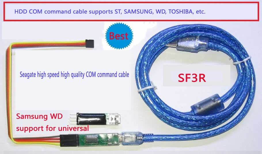 HDD Com Port Command Cable Universal Terminal Cable Support Manty Brand Hard Drive Disk