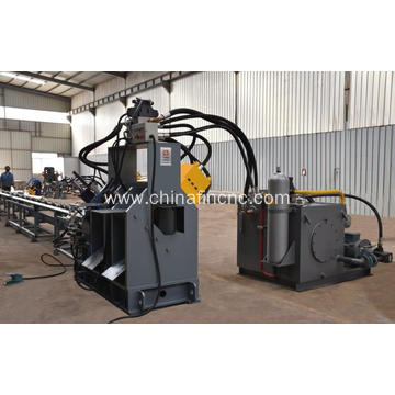 Hydraulic Flat Bar Punching Marking Shearing Line