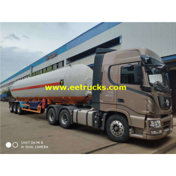 54000l LPG Gas Transport Tanker Trailers