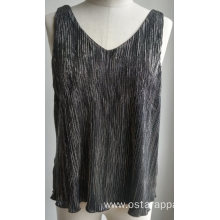 Summer Used Clothing Women Polyester Top