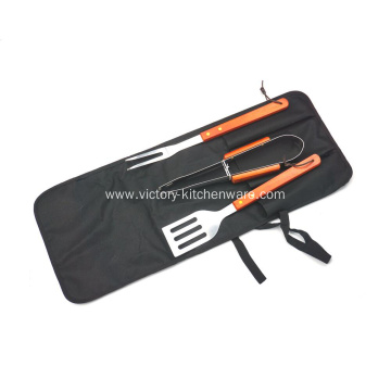 BBQ grill set with apron packaging