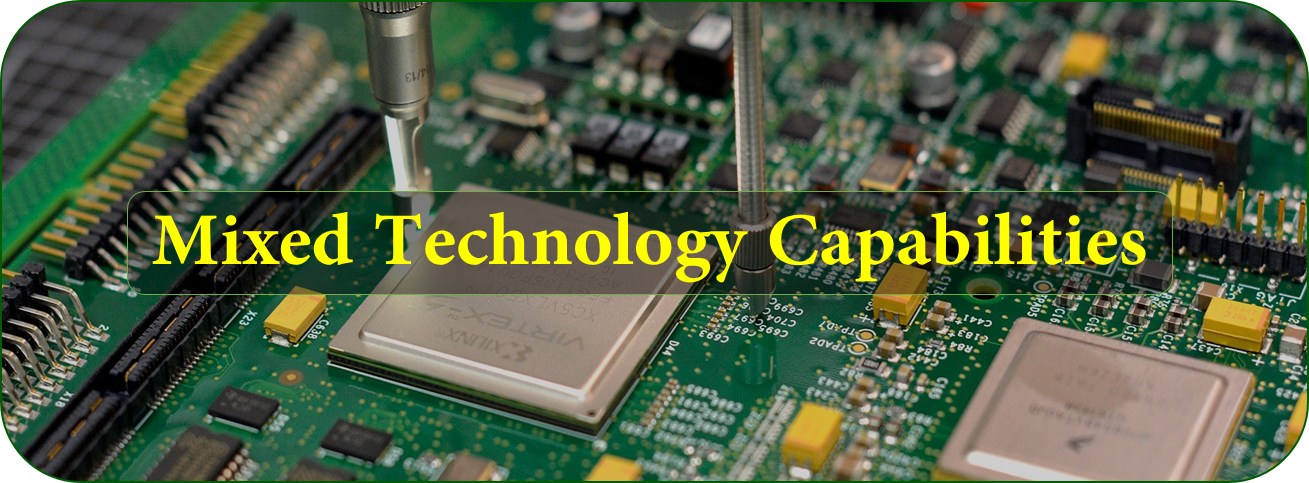 Mixed Technology Capabilities | JHYPCB