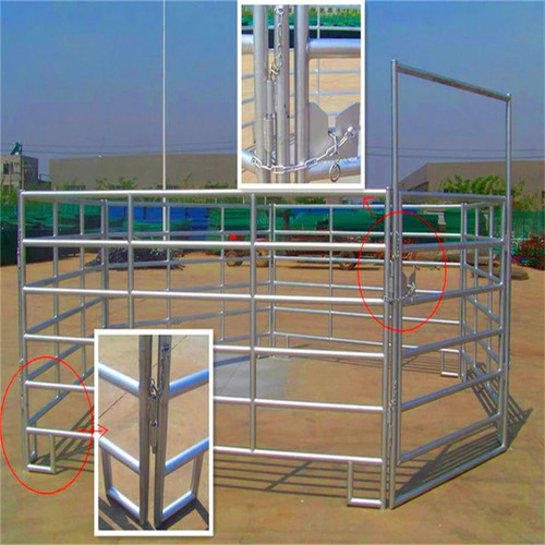 Steel Fence Farm Galvanized cattle fence panel
