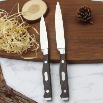 Stainless steel kitchen knife set