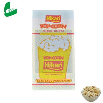 Fast food packaging greaseproof kraft microwave paper popcorn bags