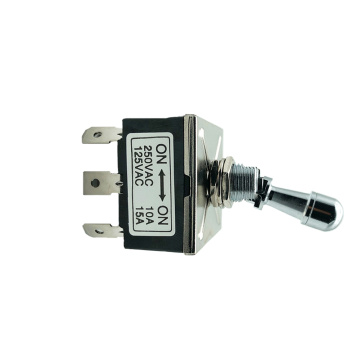 3P ON ON Self Lock Electrical Toggle Switches