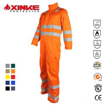 wholesale cotton nylon coverall for oil and gas