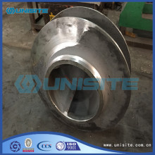 Steel casting impeller design