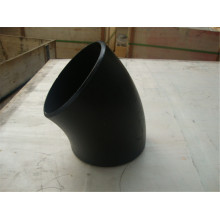 Black Carbon Steel Seamless 45 Elbow Pipe Fittings