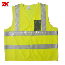 EN471 polyester industrial warning vest