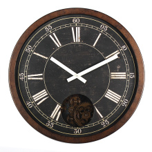 16 inch Antique Style Wall Clock Roman Numerals
