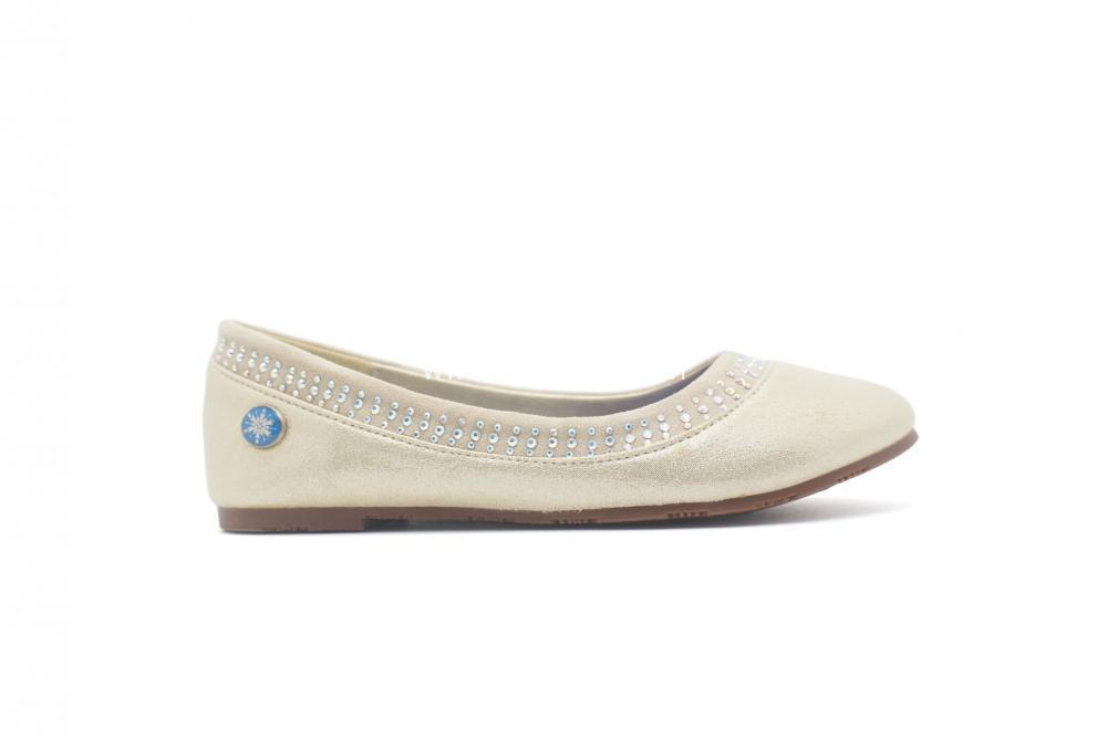 Flats Shoes Girls ballerinas  with diamonds