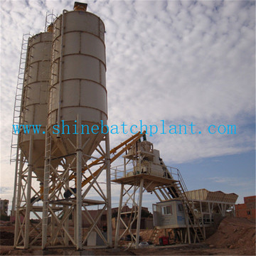 Wet Ready Mobile Concrete Batching Plant