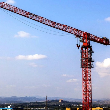 how are tower cranes anchored