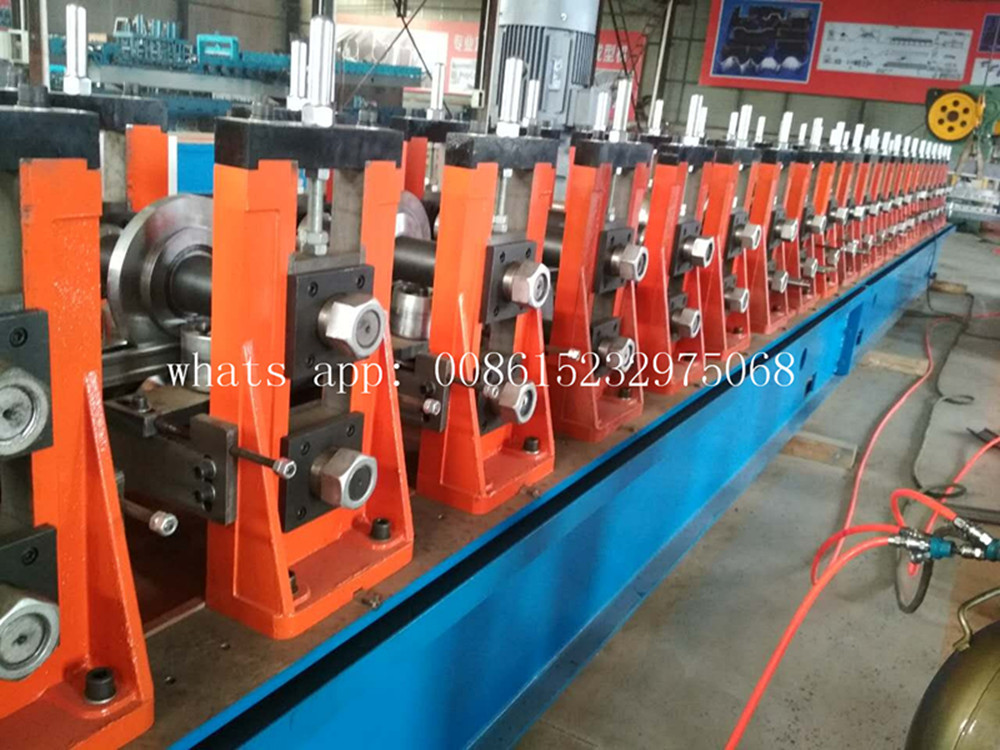 solar panel support frames roll forming machine