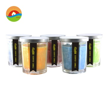 Besar Heather Soy Wax Lilin kaca wangi