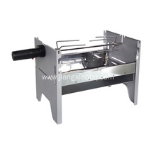Portable Charcoal BBQ grill with Rotisserie Motor Kit