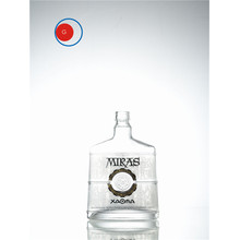 nice Round Bottom Vodka Glass Bottle