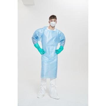 High Quality Nonwoven Disposable Protective Isolation Gown