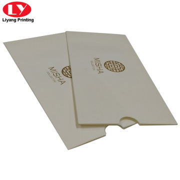 custom gift credit card sleeve envelope