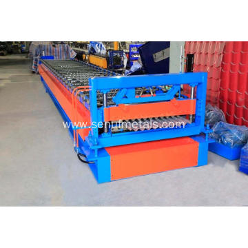 Galvanized corrugated steel sheets forming machine IBR glazed