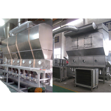 Xf Series Powder Horizontal Fluidizing Dryer