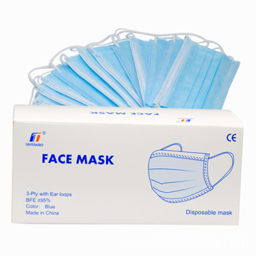 Medical Mask Blue Side Out