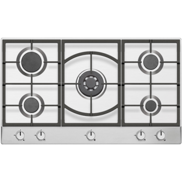 Stainless Gas Hobs in Poland 5 Burners