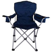 High padded back Presidents Chair with organiser pocket