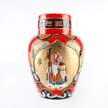 Рельефное вино Shaoxing Craft